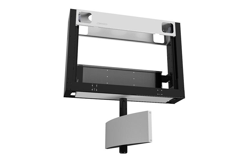 iconnect tv lift drop down swivel smart flap tvl rs. Black Bedroom Furniture Sets. Home Design Ideas